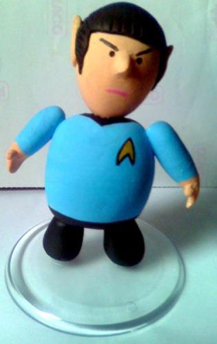 Toy Art de 8 Cm do Dr. Spock