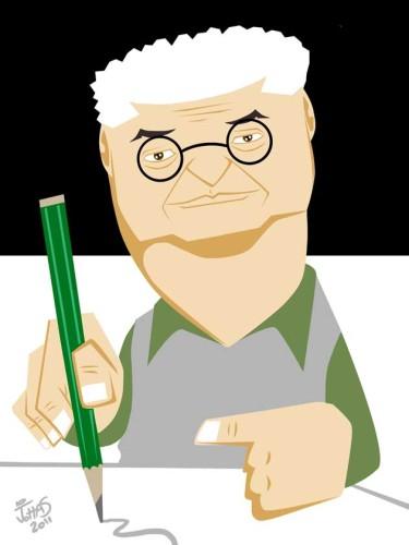 Caricatura feita para Exposição no Salão de Humor de Piracicaba 2011