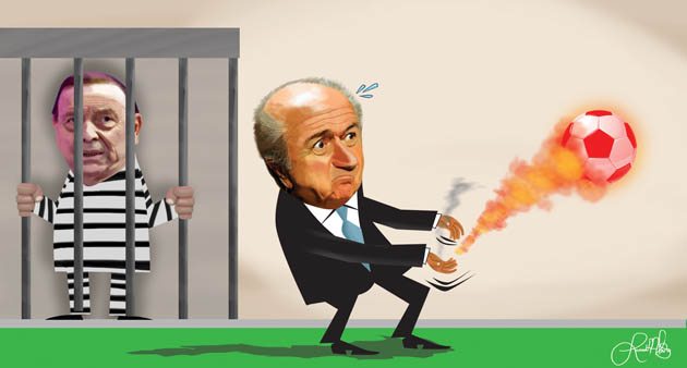 BOLA QUENTE NA FIFA_BLATTER_MARIN