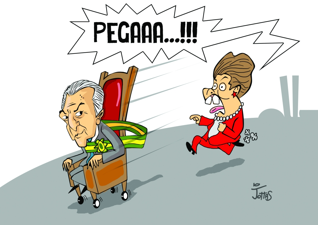 Charge_Temer presidente