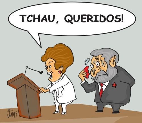 TCHAU QUERIDOS